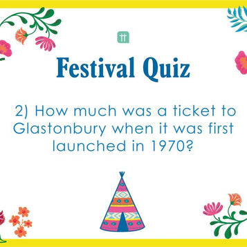 printable festival quiz - Talking Tables