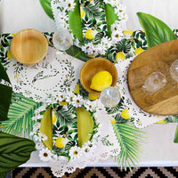 Tropical Palm Lemon Napkins - Talking Tables UK Public