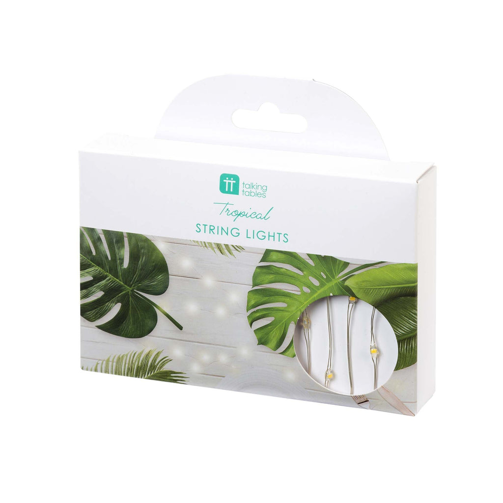 Fiesta Tropical Silver String Lights