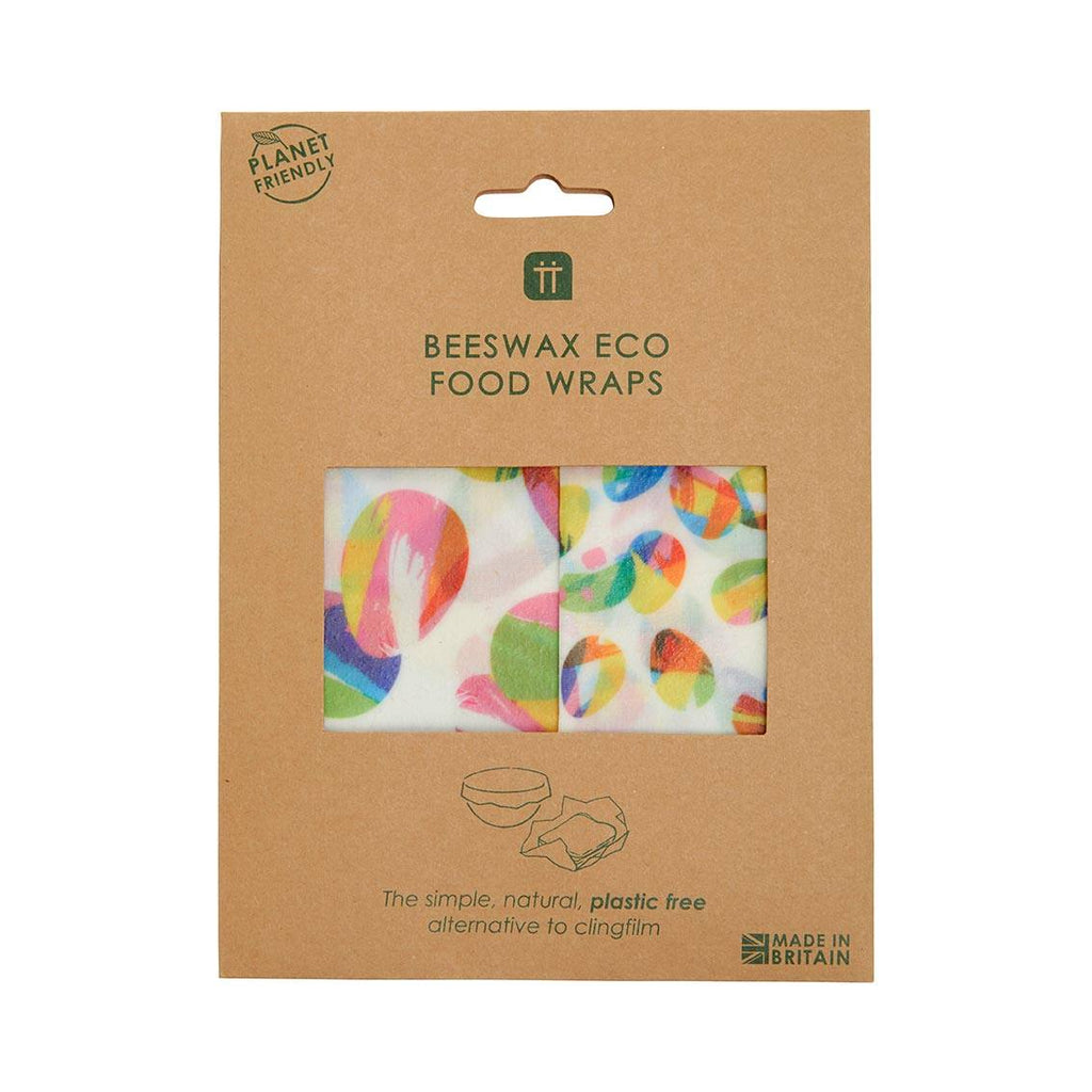 Hop Over The Rainbow Beeswax Wraps, 2 Pack