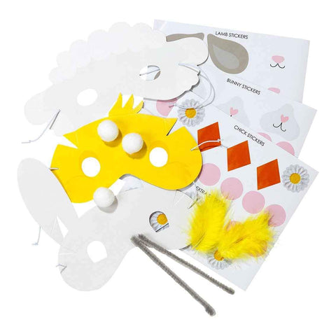 hop over the rainbow mask making kit - Talking Tables