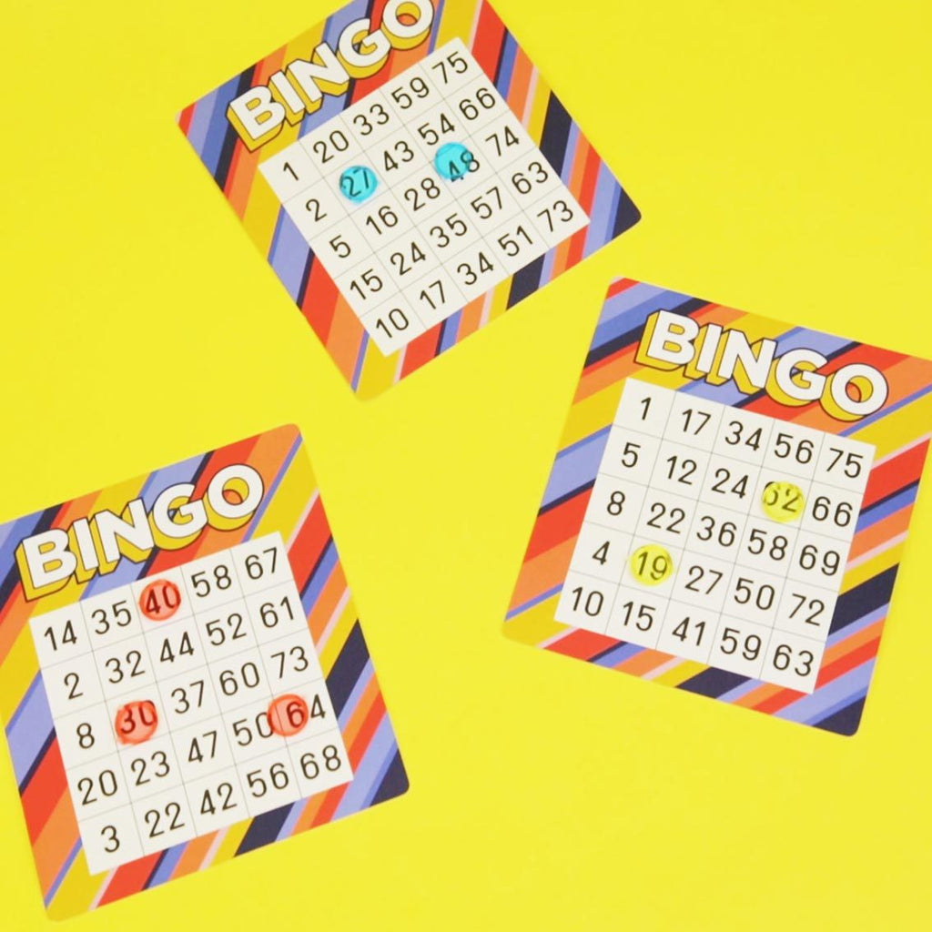 host your own bingo - Talking Tables
