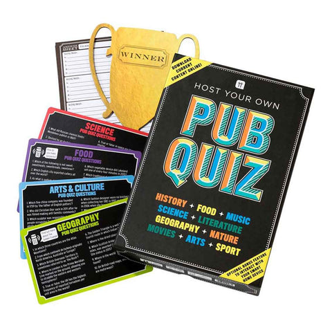 host your own pub quiz 1 - Talking Tables