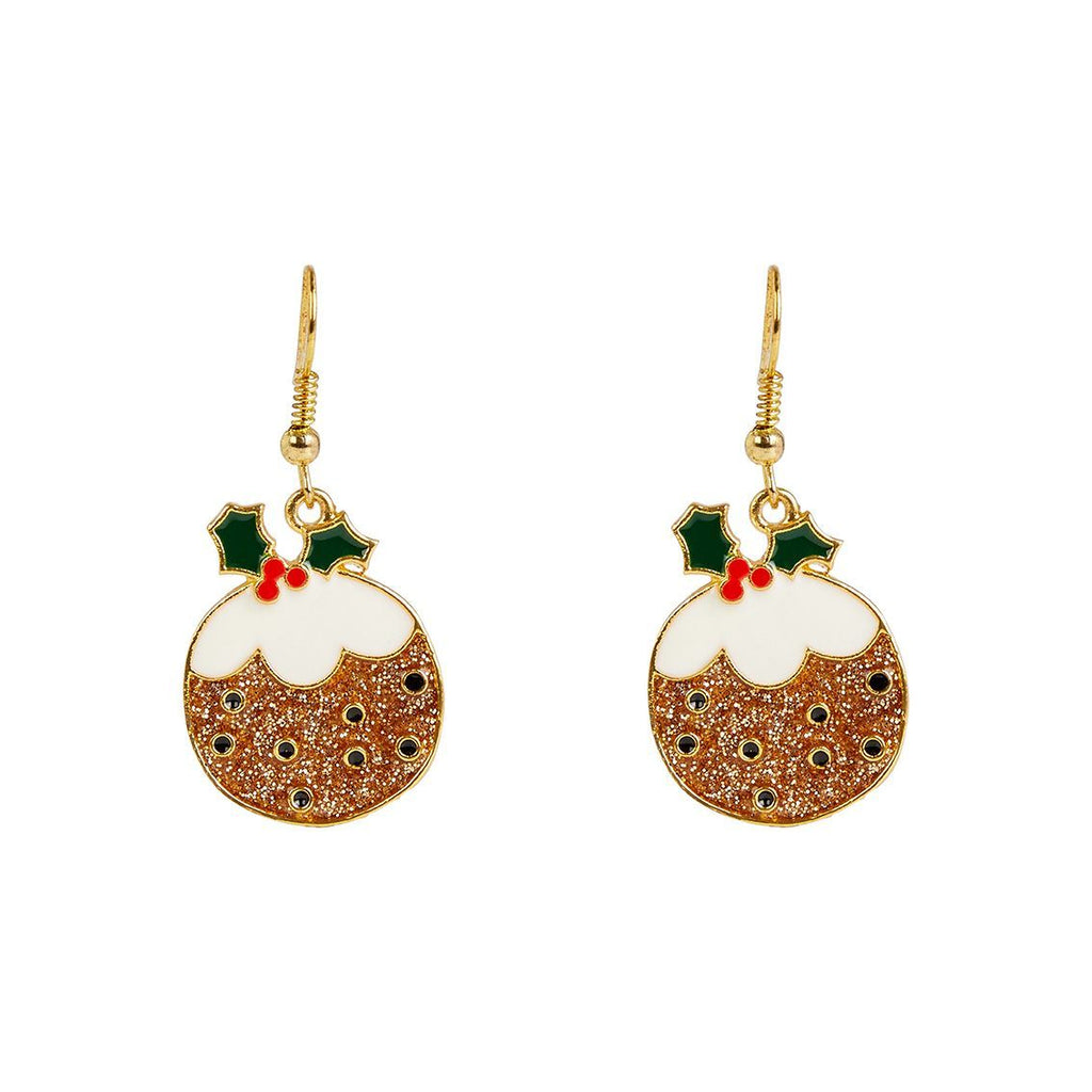 head turners pudding earrings - Talking Tables