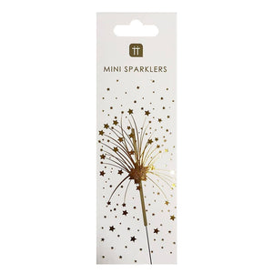 Luxe Gold Mini Sparklers, 20Pk.