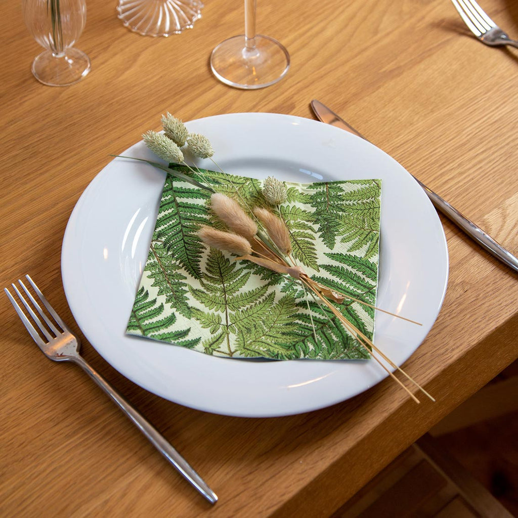 dtw fern napkins - Talking Tables