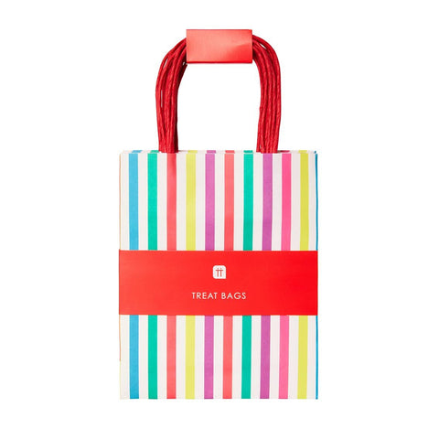 mix match multi coloured paper party bags 8pk - Talking Tables