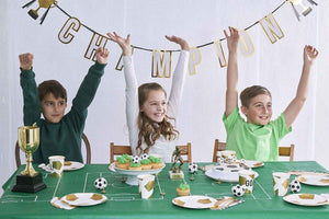 Party Champions Boot Shaped Napkins - Talking Tables UK Public