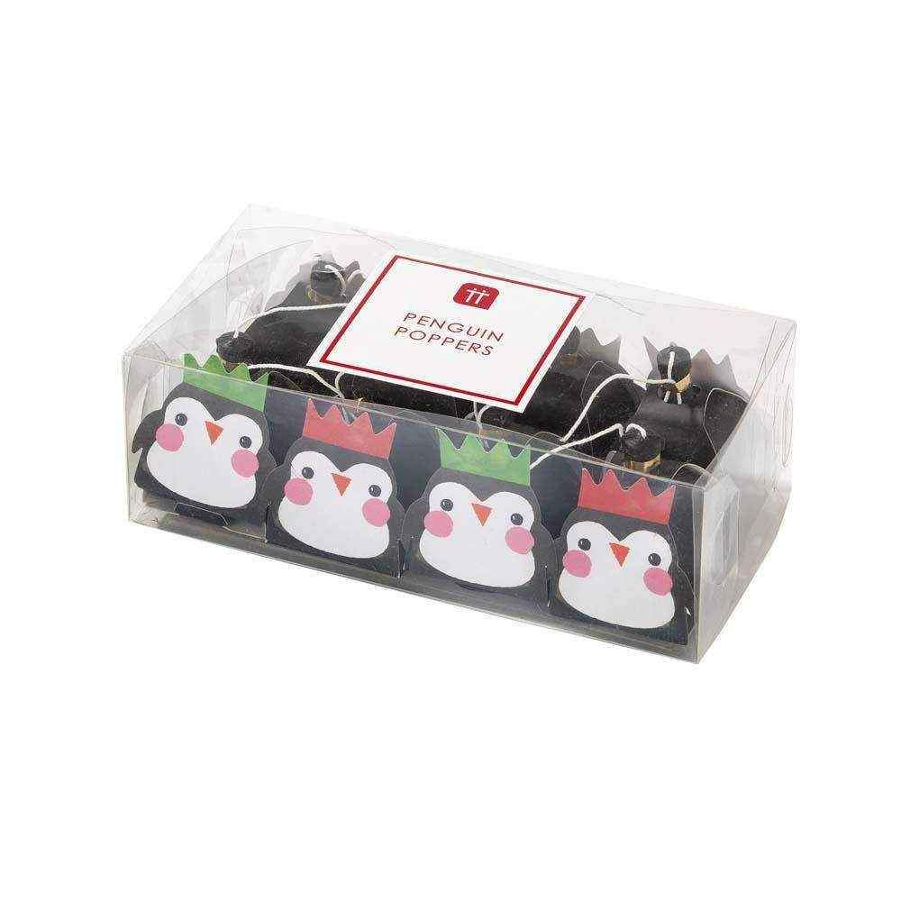 penguin parade poppers - Talking Tables