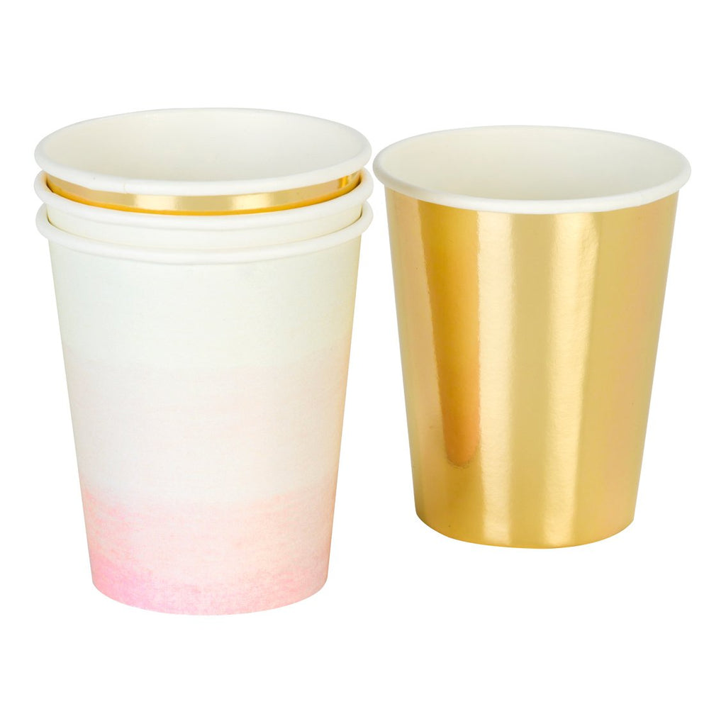 We ♥ Pink Paper Cups