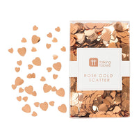 Party Porcelain Rose Gold Scatter