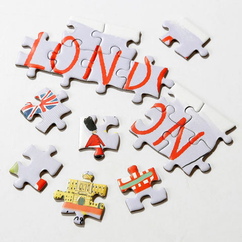 Map Jigsaw Puzzle London 250 pieces - Talking Tables UK Public