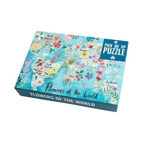 puzzle pick me up flowers 500 pieces - Talking Tables