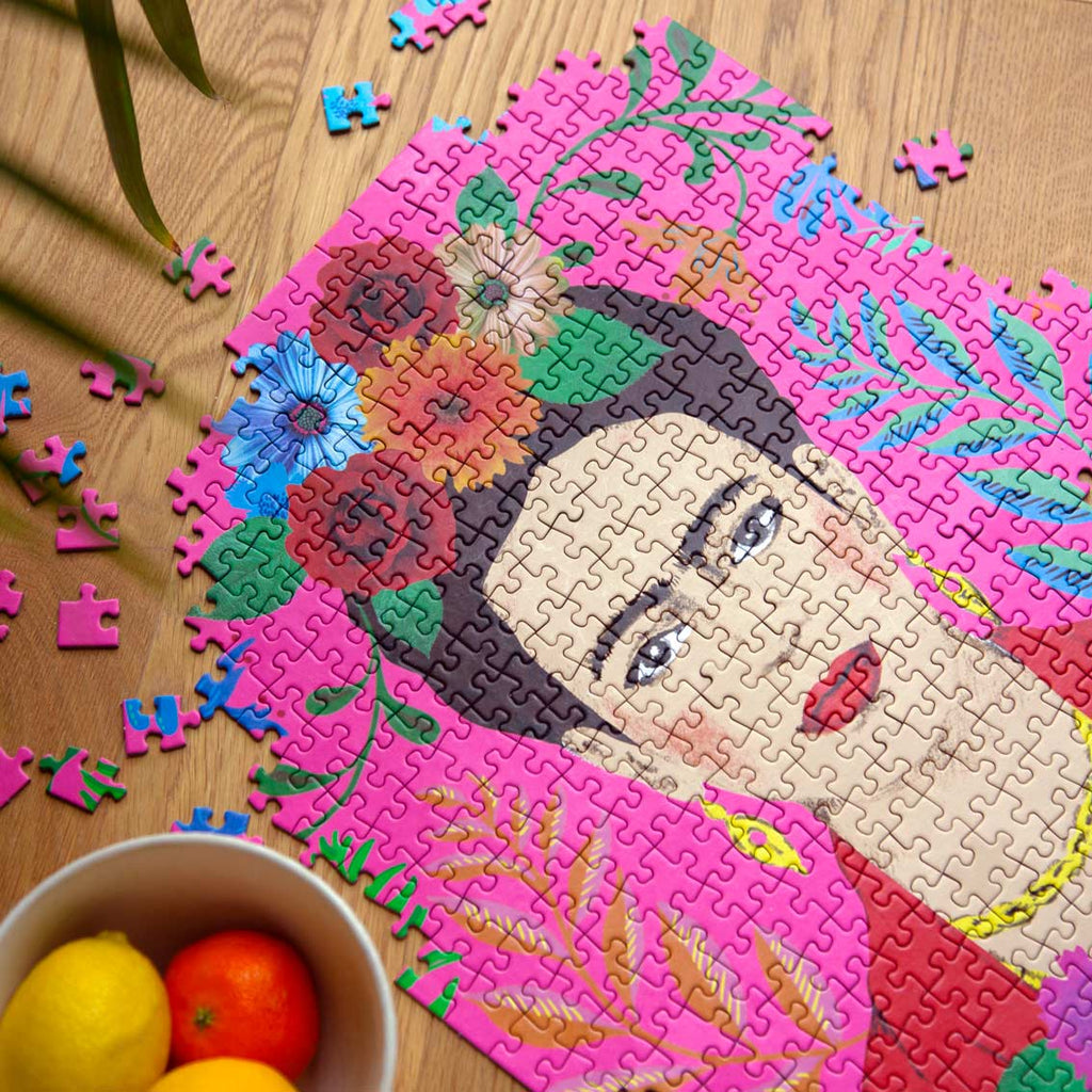 Pick Me Up Jigsaw Puzzle Frida Kahlo 500 pieces