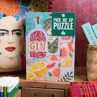Pick Me Up Jigsaw Puzzle Gin 500 pieces - Talking Tables UK Public