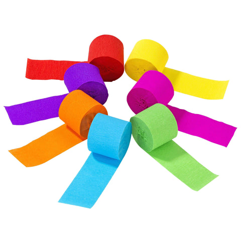 birthday brights rainbow streamers - Talking Tables