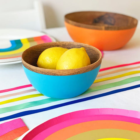 Boho Spice Small Mango Wood Bowl - Talking Tables UK Public