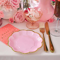 Rose Plates - Talking Tables UK Public