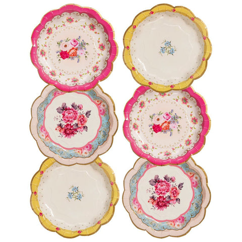 truly scrumptious plates - Talking Tables