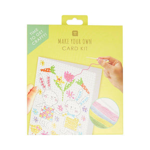 Truly Bunny Easter Cross Stitch Card Kit