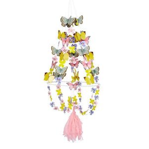 Truly Fairy Paper Butterfly Chandelier