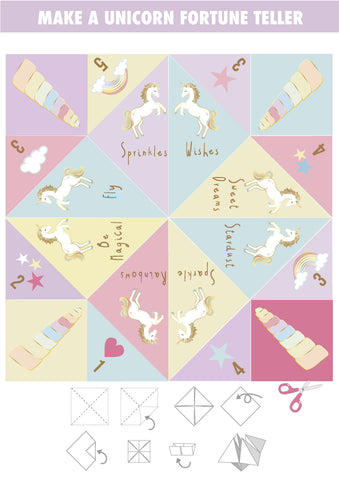 Printable - We Heart Unicorn