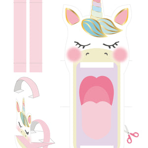 Printable - We Heart Unicorn - Talking Tables UK Public