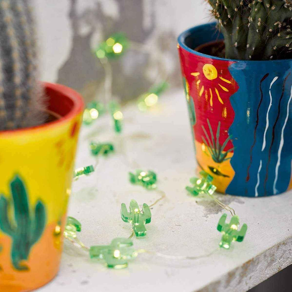 Cuban Fiesta Mini Cactus Lights