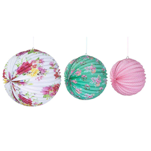 truly scrumptious paper lantern 3 pack - Talking Tables