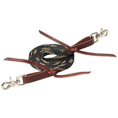 "Weaver Leather Flat Braided Competition Roper Rein 5/8"" x 8'"