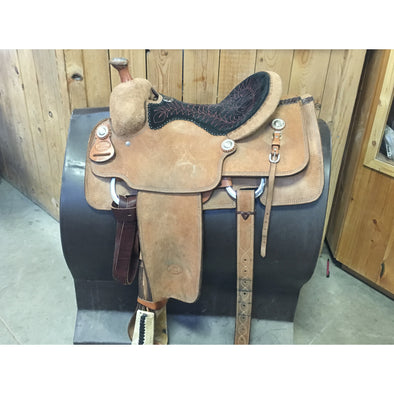 Billy Cook 14.5 Howard Council Tree Rope Saddle - Used