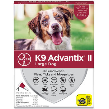 K9 Advantix II L Dog 4 Doses