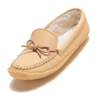 Bastien Ladies Moccasins, Crepe Sole