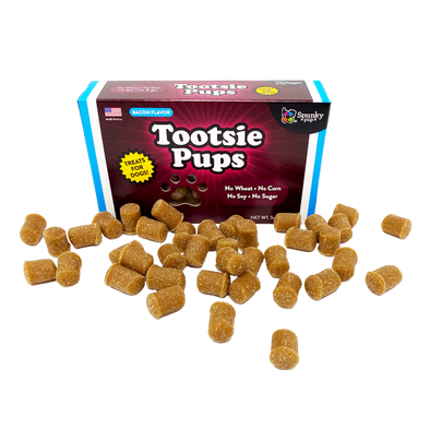 Spunky Pup Tootsie Pups Treats  Bacon