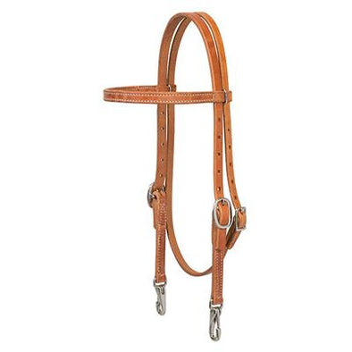 Weaver Leather ProTack Browband Trainer Headstall 5/8""