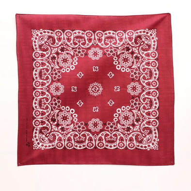 Bandanas Traditional 21x21 Burgundy