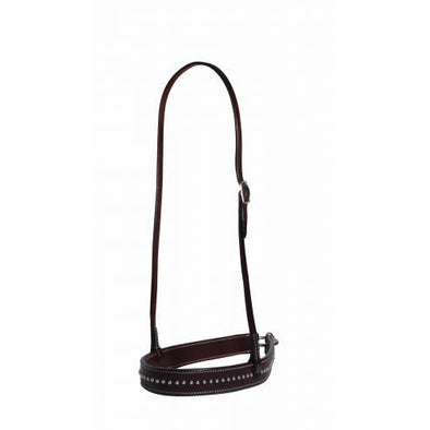Professional's Choice Noseband Dark Dotted Tiedown