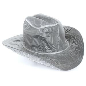 "Twisted Hat Cover Clear 5"" Brim"
