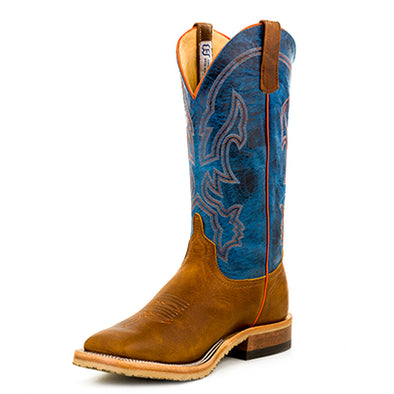 Anderson Bean Men's Western Boot - Briar Briar/Danube Mad Dog - Irvines Saddles