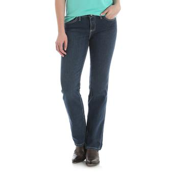 "Wrangler ""Q-Baby"" Mid-Rise Booty Up Women's  Ultimate Riding Jean"