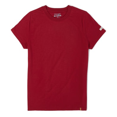 Wrangler Ladies Riggs Work Wear Red T-Shirt