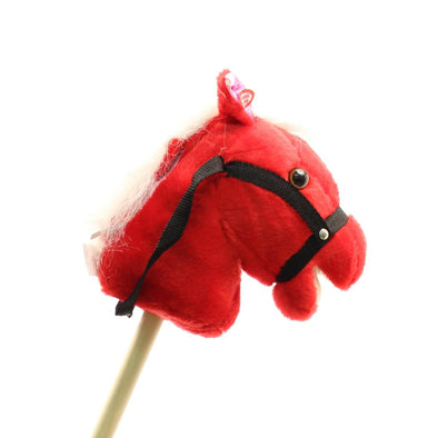 Talkin' Stick Horse Small Red