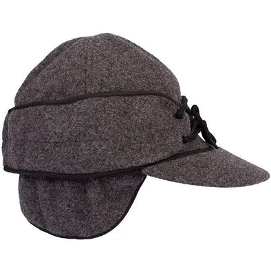 Wyoming Traders Mackenie Charcoal Wool Cap