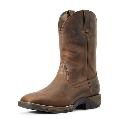Ariat Men's Ranch Work Distressed Brown Boots