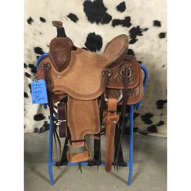 "Irvine 12"" Jr  Rope Saddle"