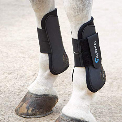 Arma Open Front Tendon Boots
