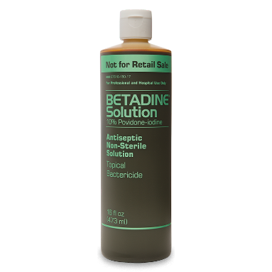Betadine Solution - 500ml (Lot# 139243, Exp: 31/10/21) (Lot# 139273, Exp: 11/01/21) (Lot# 137715, Exp: 1/06/21)