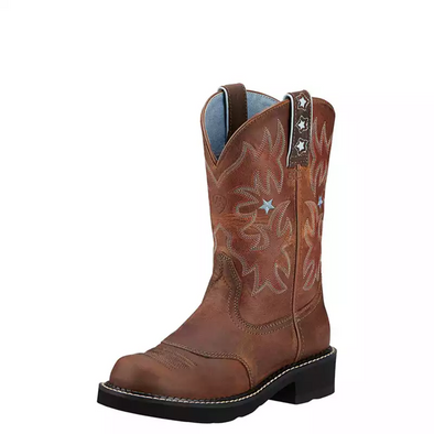 Ariat Women's Probaby Western Boot - Driftwood Brown