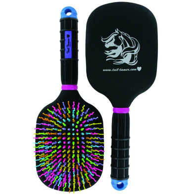 Professional's Choice Tail Tamer Rainbow Paddle Brush