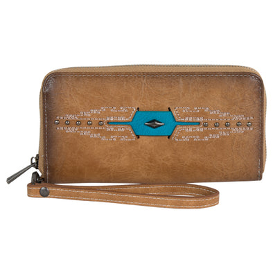 Catchfly Mattison Wallet Burnish Aztec